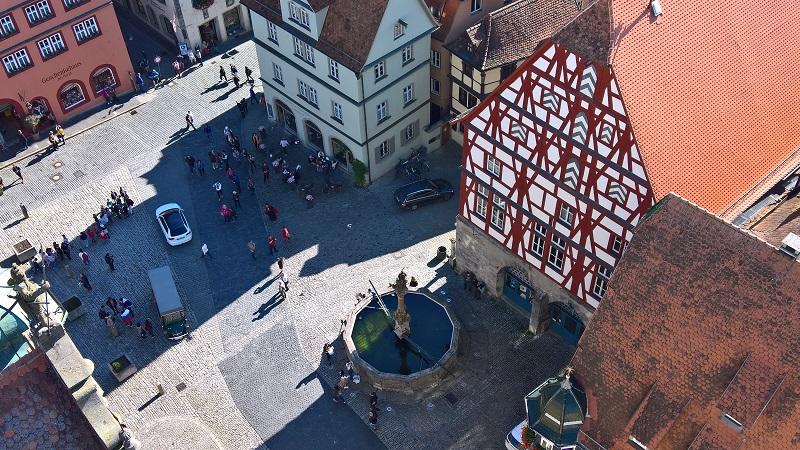 Vista desde la torre del ayuntamiento